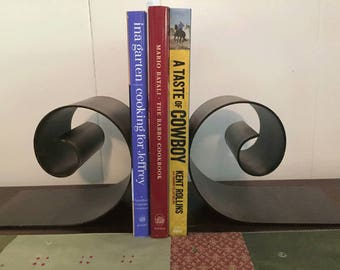 A Pair of Metal Bookends