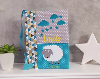Health booklet protection cover customizable sheep