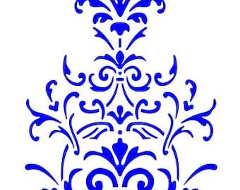523 Victorian Mini stencil