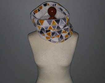 """Adult """"pull-on"""" reversible Snood"""