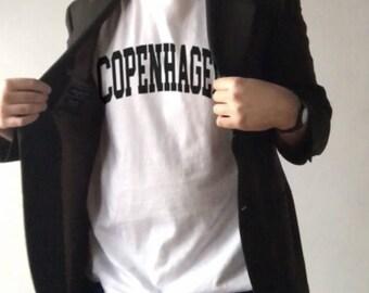 Copenhagen Tee -- Copenhagen Shirt | Caopenhagen T-Shirt | Copenhagen Shirt | Denmark | Denmark Shirt | Copenhagen Denmark | Copenhagen Tee