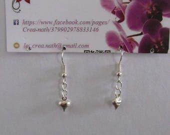 earring type heart B2