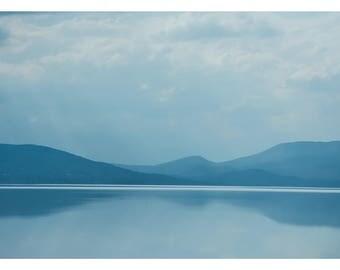 Cuitzeo Lake in Blue