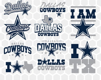 Dallas Cowboys SVG, American Football, NFL, Football Team, Logo Silhouette, Studio Cameo Cricut, T-Shirt Transfer, SVG, 036Full