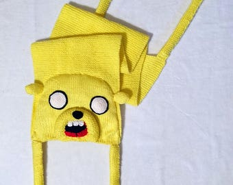 Wool scarf Jake the dog Adventure Time