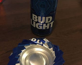 Soda Can Coasters & Ashtrays