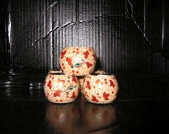 Set of 6 Autumn Napkin Rings