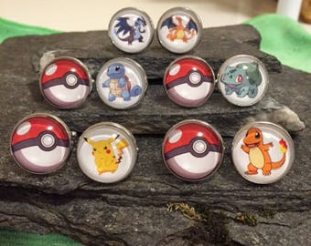Pokemon Cufflinks, Video Game Cufflinks, Gamer Tie Clips, Gamer Tie Bars, Gamer Pins, Gamer Tie Tacks, Gamer Cuff Links, Gamer Lapel Pin