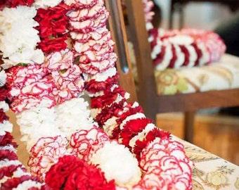 Flower Garland, Floral Garland, Wedding Garland, Indian Flower Garland, Wedding  Flower Garland