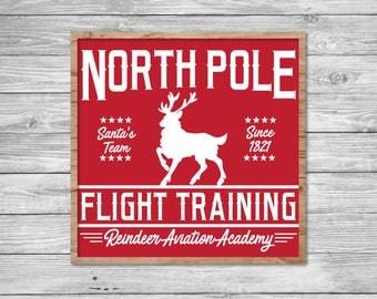 Reindeer Aviation SVG, Fixer Upper Christmas Vector, Vintage Christmas SVG, Print, Vector, Magnolia Farms, Rustic, Joanna Gaines, Stencil