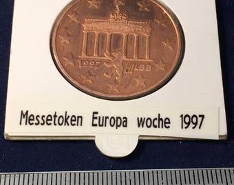 1997 Messe Token Europa Woche - Uncirculated