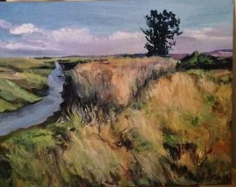 Acrylic Painting Nature Landscape