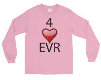4 Heart Evr Spartees Unisex jersey knit Long Sleeve T-Shirt