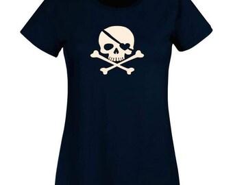 Woman skull T-shirt