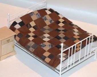 Miniature Patchwork Coverlet