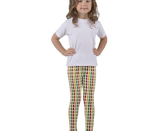 Printed Kid's leggings, Gummy Bear Pattern