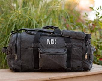Mens Weekender Bag Canvas Duffle Bag For Men Weekend Bag Mens Duffle Bag Groomsmen Gift Mens Gift Canvas Weekender Bag Canvas Duffel Bag Men
