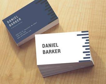 Blue&W Business Card