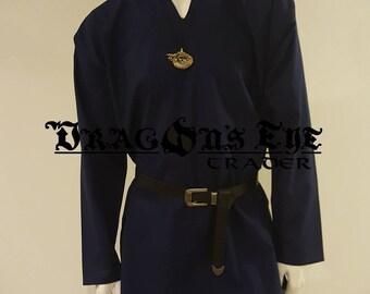 Basic Long Sleeve Cotton Tunic