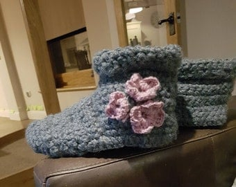 cosy slipper boots