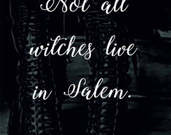 Not all witches