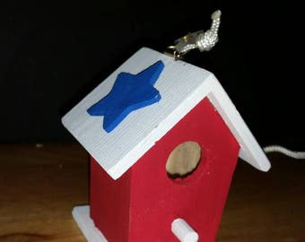 Patriotic Bird Houses (Set of 5)