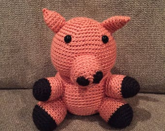 Herman the Pig (Stuffed Animal)