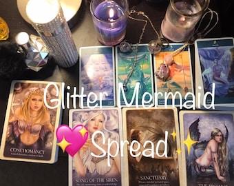 Glitter Mermaid Tarot & Oracle Reading - Past Present Future! - Five Dollar Divination