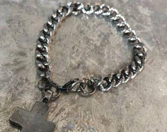 Square Cross Bracelet