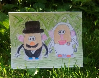 Mr. & Mrs. Potato Head Wedding