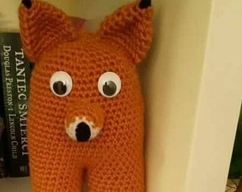 woolen , Fox Thing , cuddly baby crochet