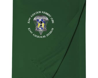 82nd Aviation Brigade Embroidered Blanket-3518