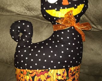 Home Sewn Halloween Cat