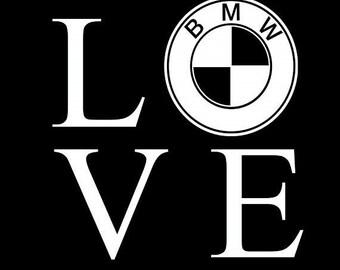 BMW / Love / Bike Life / Street bikes / Motorcycles/ Braap / Decal / Motorcycle Decals/ Sticker / Laptop / Car / Truck / Window