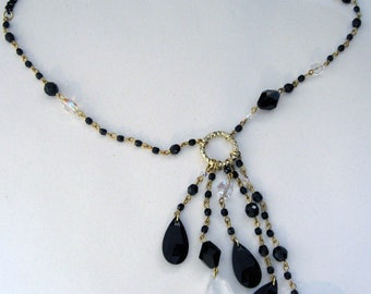 High Jewelry necklace with pendant
