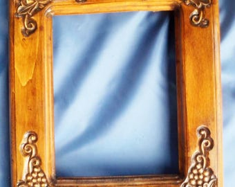 Handmade mirror (picture) frame