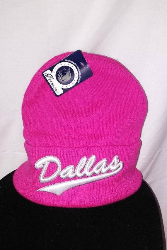 737340fd01e00a ... where can i buy description. a pink ladies dallas cowboys beanie e3c2b  be40e