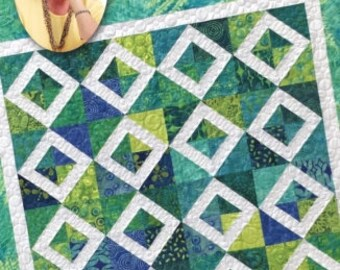 Eleanor Burns Signature Quilt Pattern Magic Carpet Ride