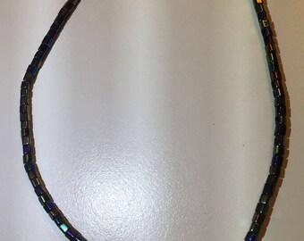 Black Rainbow Necklace