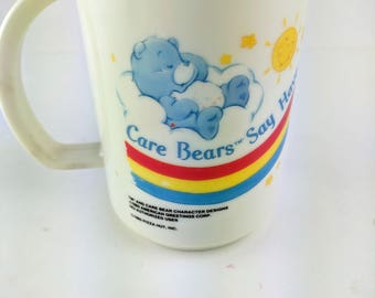 Vintage Care Bears 1985 Cup