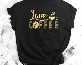 Matching Shirts, Funny Womens Shirts, Coffee T shirt, Coffee Drinker Gifts, Birthday Shirts, Funny Tank, Clothing, Gift for her, F18