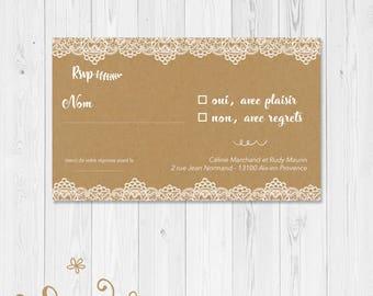 "answer card ""rsvp"" wedding ""mimosa"" printable • digital file"