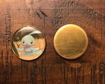 Pokemon Token/Coin (Manaphy, Growlithe, Mewtwo, Shaymin, & Golem-Alola)