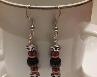 Dangle Bead Earrings