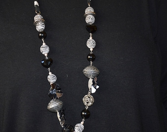long necklace without clasp