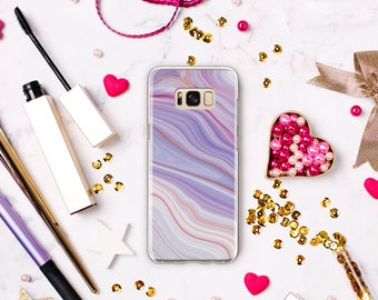 iPhone 7 Plus Case, iPhone 7 Case, iPhone 6 Case, iPhone 8 Case, iPhone 8 Plus Case, iPhone X Case, White and Gold, Marble Phone Case 325