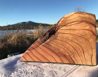 Medium Redwood Burl box