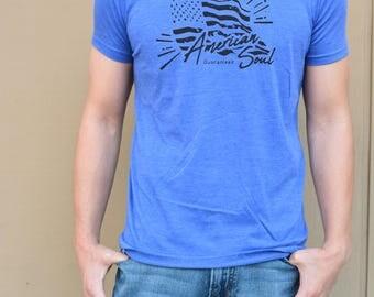 T-American Soul Men's Crew Neck T-Shirt