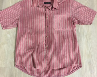 Mens Vintage Pin-Stripe Shirt (90s)