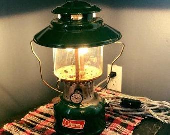 Vintage 1965 Upcycled Coleman Lantern
